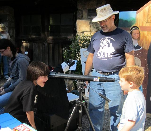 Fun with a telescope