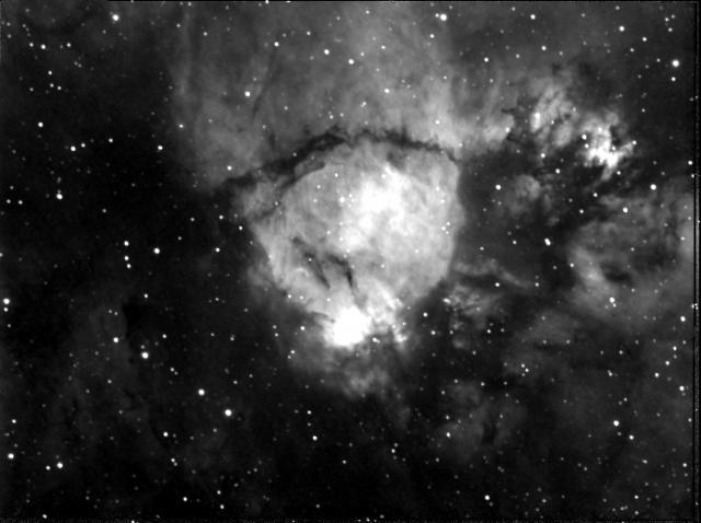 Emission Nebula IC1795