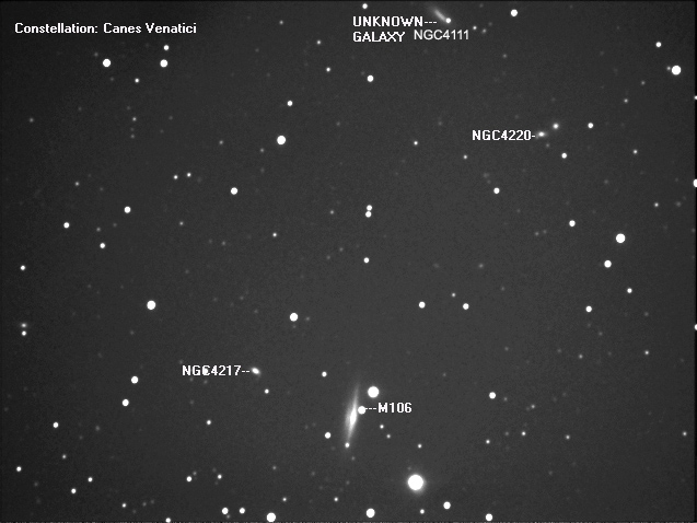 Constellation Canes Venatici