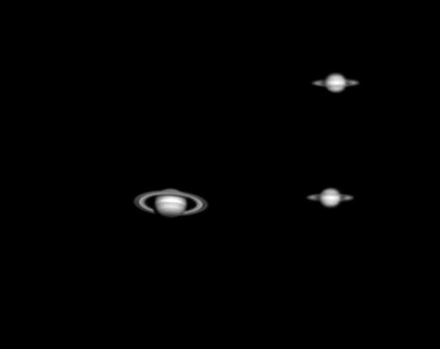 Saturn Sized
