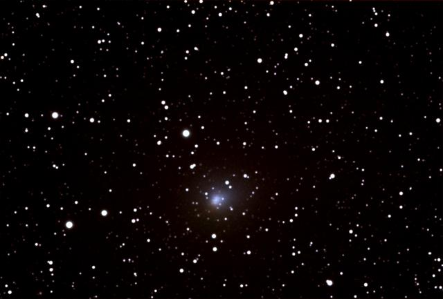 Comet Hartley in Cassiopea Midnight October 1