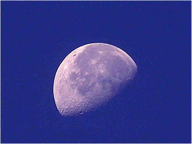 Moon 8 AM